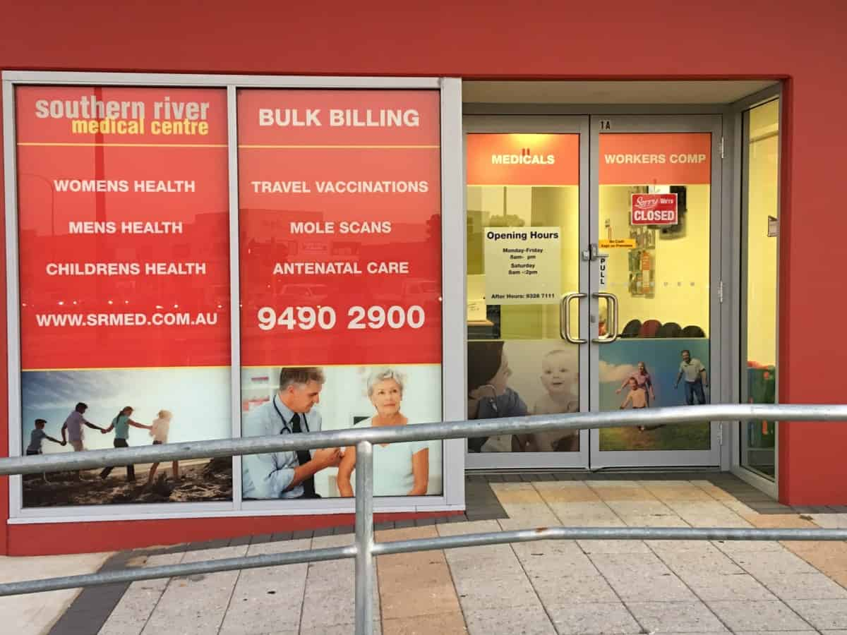 Southern River Medical Centre Shop Front